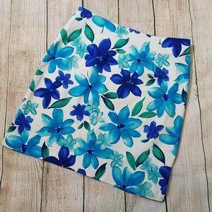 4 for $20-Floral mini skirt